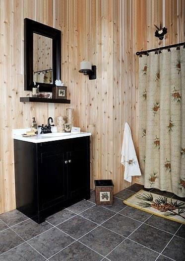 Decoracion De Baños Rusticos Fotos:Fotos de la decoración para baños rústicos – EspacioHogarcom