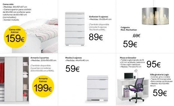Dorm juvenil for Carrefour muebles dormitorio