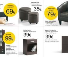 Catálogo de muebles de dormitorios de Carrefour
