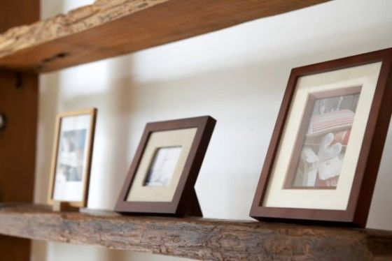 estantería-madera-salon
