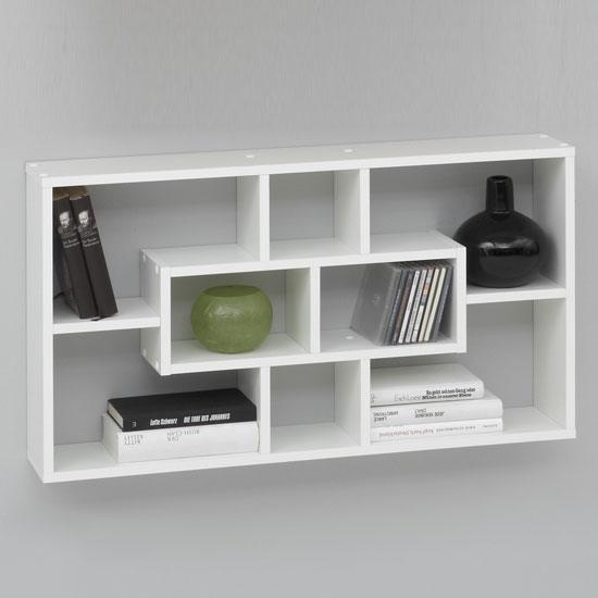 White Wall Shelves 550 x 550