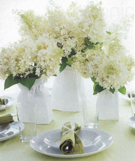 White flowers-wedding