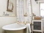 foto-baño-rustico-bañera-blanco