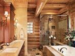 foto-baño-rustico-ducha