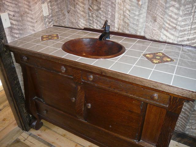 Imagenes Baño Rustico:foto-baño-rustico-mueble – EspacioHogarcom