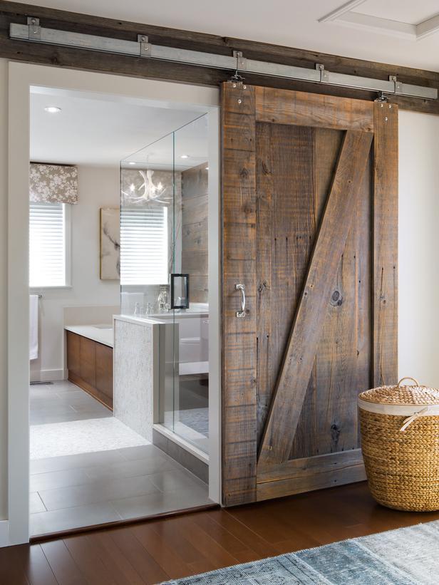 Imagenes Baño Rustico:foto-baño-rustico-puerta