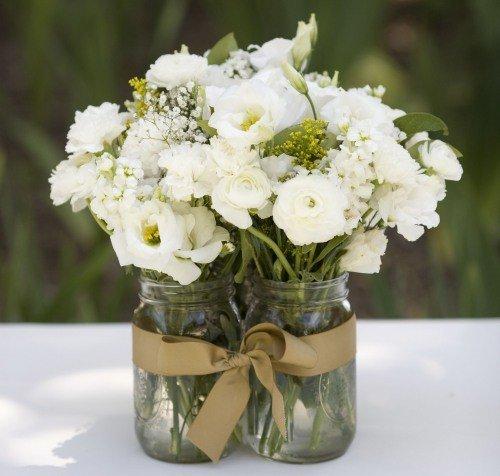 Centros de mesa con flores - Hacer un centro de flores ...
