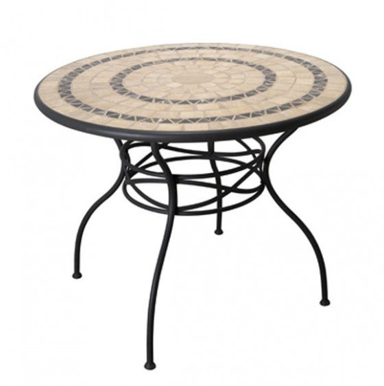 mesa-acero-redonda