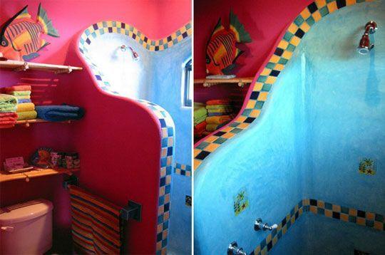 Ba os estilos decoraci n de ba os estilo mexicano for Banos rusticos mexicanos
