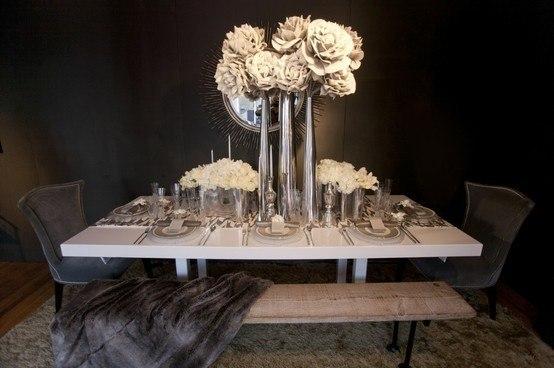 Decoraci n con centros de mesa modernos - Centros decorativos modernos ...