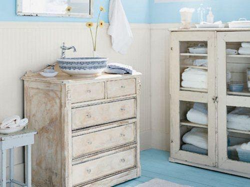 Muebles Baño Vintage:Decoración de baños rústicos – EspacioHogarcom