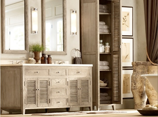 Armarios De Baño Rusticos:Fotos de la decoración para baños rústicos – EspacioHogarcom