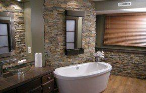 Ideas para la decoración de baños rústicos
