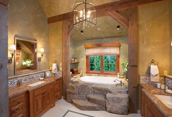 Decoracion De Baños Rusticos Fotos:Rustic Country Bathroom Decor