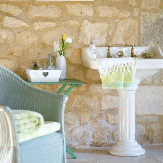 pila-manos-baño-rustico