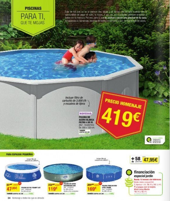 Cat logo de leroy merlin junio 2013 for Gresite piscina bricodepot