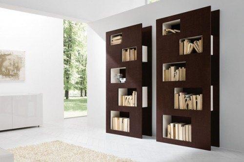 Repisa madera moderna doble - Repisas de pared modernas ...