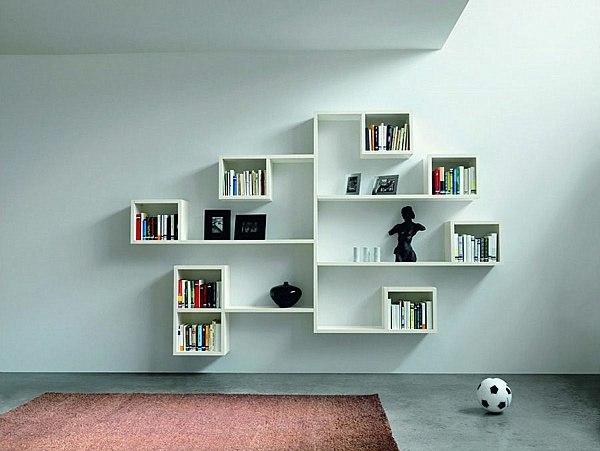 Book Rack Wall Mount