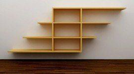 Repisas de madera para la pared