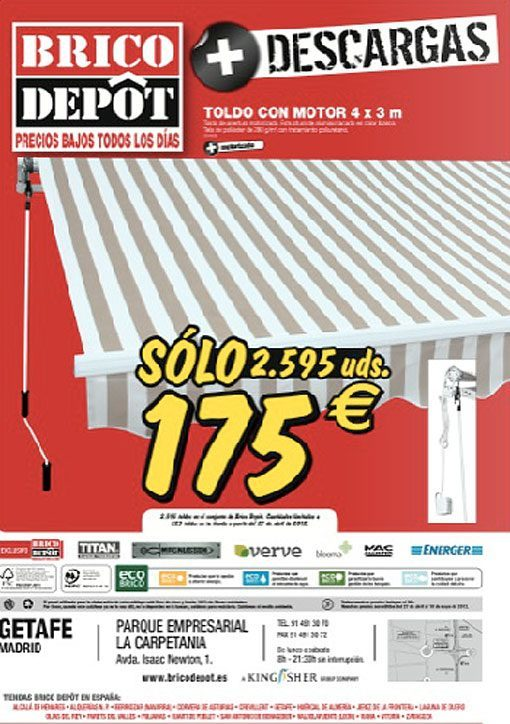 brico depot parasol catalogue brico dpt mai au juin with. Black Bedroom Furniture Sets. Home Design Ideas