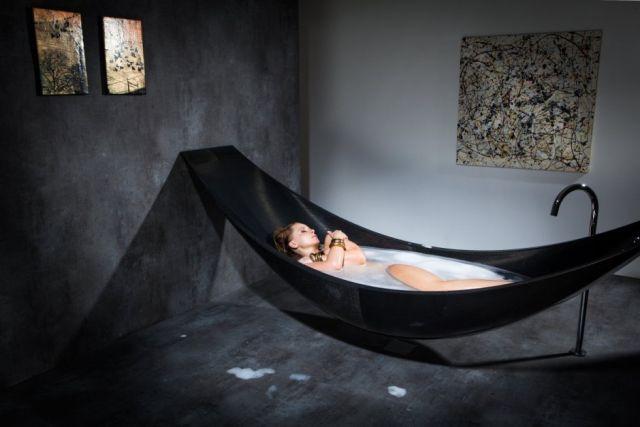 bañera hamaca