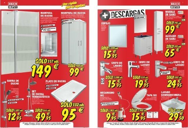 Brico depot catalogo septiembre 2013 banos y muebles de for Ofertas de muebles de bano en brico depot