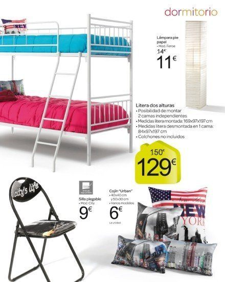 Catalogo de muebles carrefour octubre 2013 muebles de for Carrefour muebles dormitorio