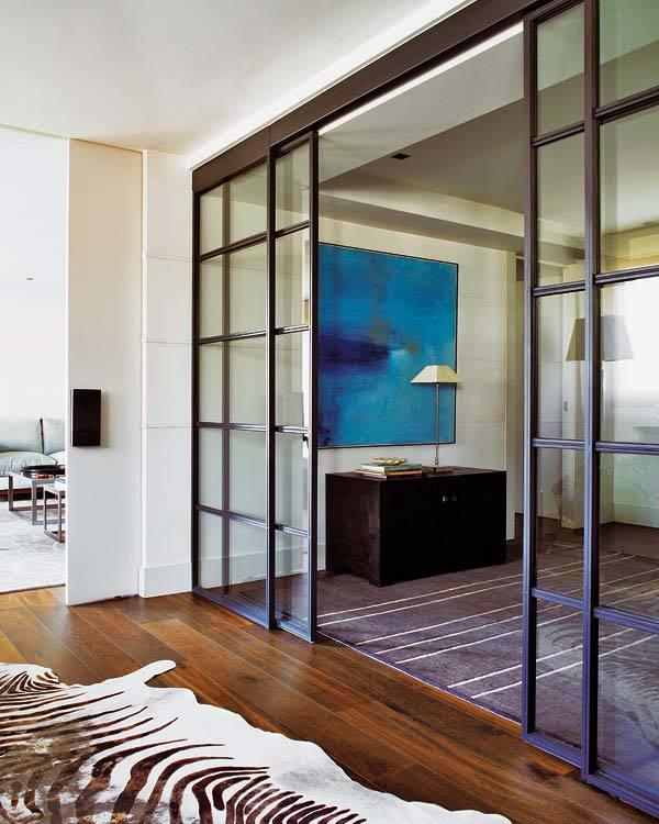 Como dividir ambientes de forma moderna y sofisticada - Puertas correderas para separar ambientes ...
