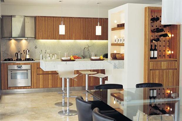Con cocina - Cocinas comedor modernas ...