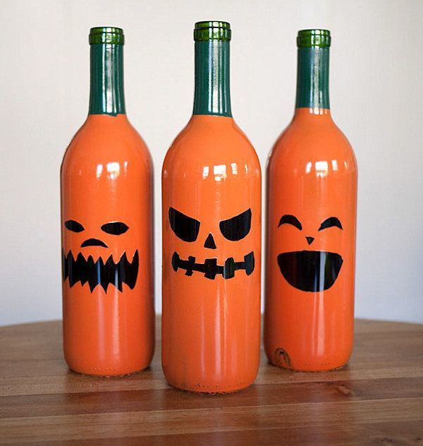 decoracion-halloween-2015-calabazas-botellas