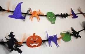 Decoracion Halloween 2014 | guirnaldas