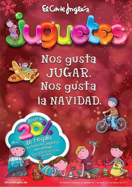 Cat logo de juguetes navidad 2013 el corte ingl s - El corte ingles catalogos ...