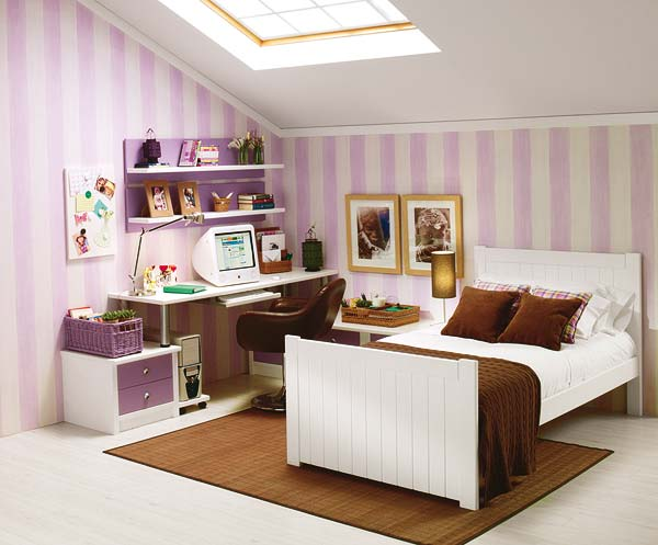 Decoraci n en espacio hogar for Cuartos de nina de 9 anos modernos