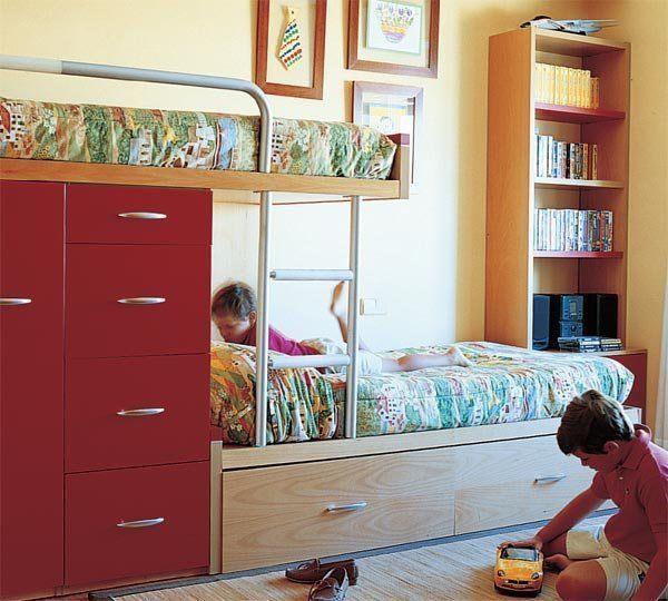 decoration-bedrooms-children-bunk-modular-for-room