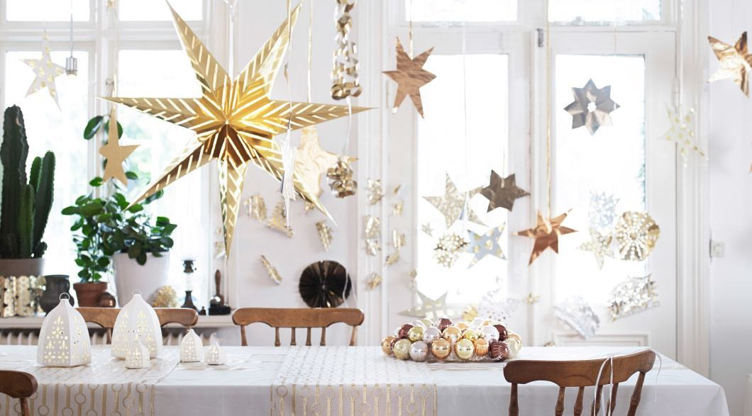 Decoraci n de navidad 2018 adornos navidad decoraci n - Ideas para decorar estrellas de navidad ...