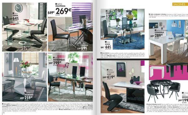 catálogo-conforama-navidad-2015-conjunto-sillas-mesas