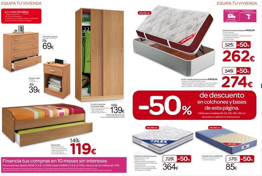 catalogo de muebles carrefour 2014 muebles de dormitorio