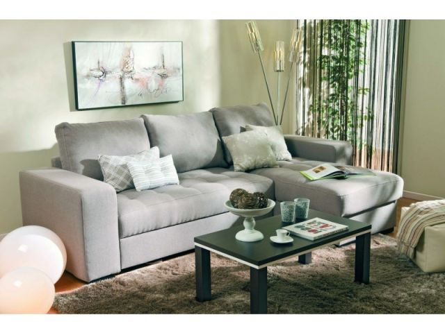 Conforama sofa gris for Sofas conforama catalogo