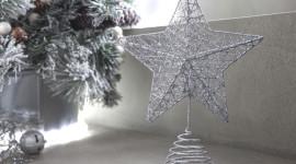 Estrellas de Navidad 2019 originales y diferentes: cómo hacerlas paso a paso