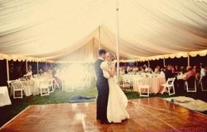 Cómo elegir una carpa para una boda