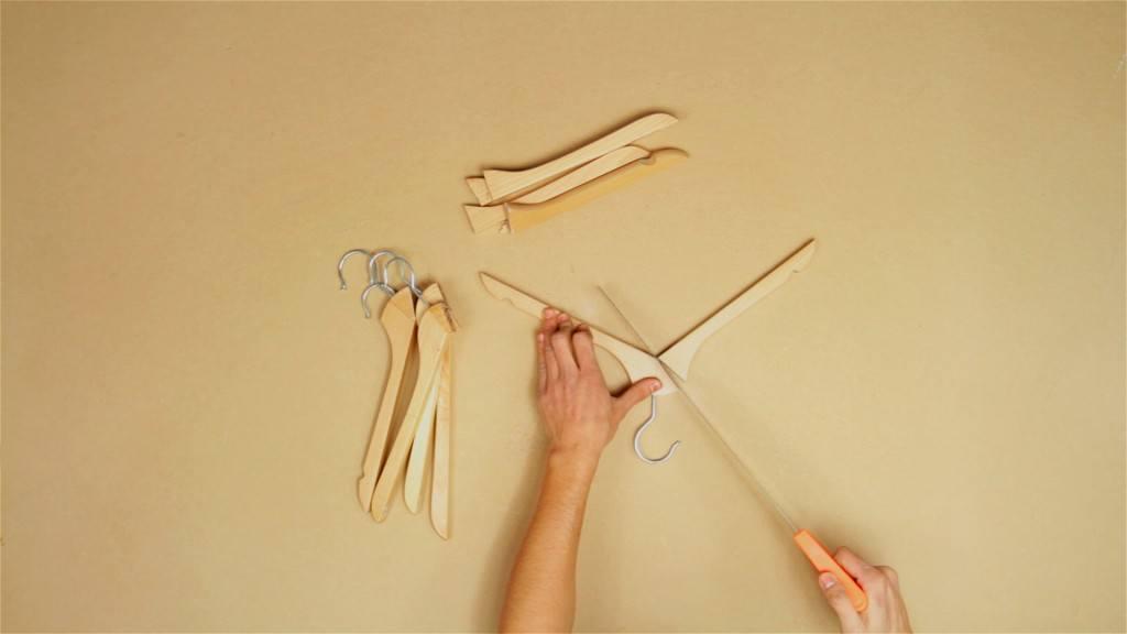 cortar las perchas