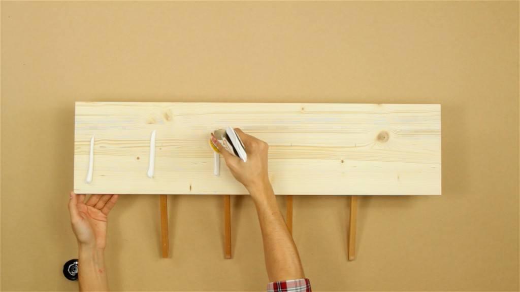 Perchero casero hazlo t mismo for Como hacer un perchero de pared