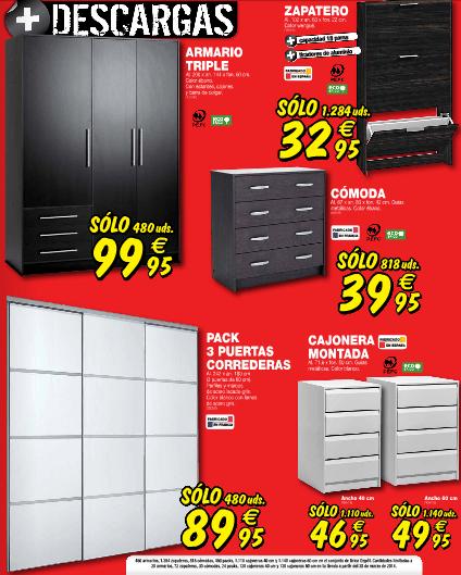 Brico Depot 2014 armarios de oferta