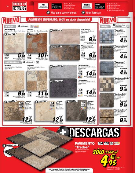 Baldosas Baño Brico Depot:Brico Depot 2014 gres pavimento