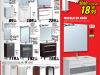 Brico Depot 2014 muebles de baño espejo y lavabo