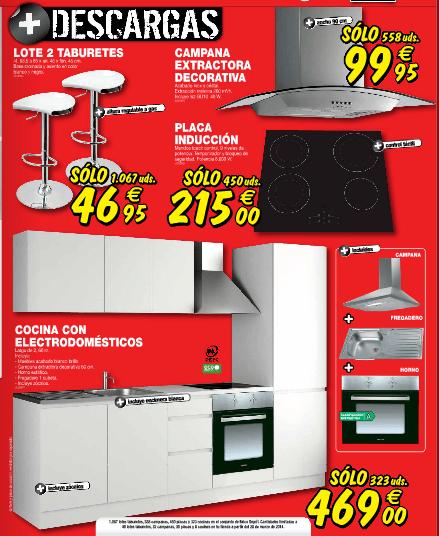 Brico Depot 2014 oferta de cocinas