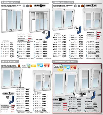 Brico Depot 2014 ventanas