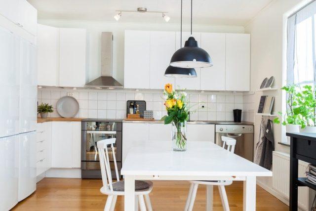 Decoracion minimalista cocina
