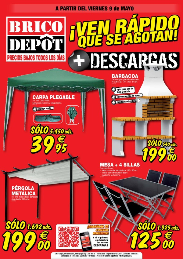 bricodepot mayo 2014 portada. Black Bedroom Furniture Sets. Home Design Ideas