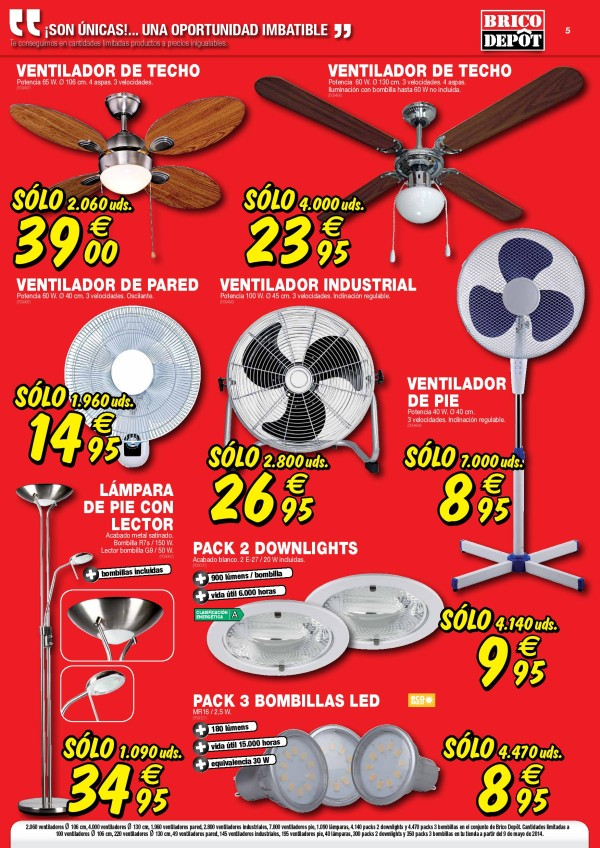 Bricodepot-mayo-2014-ventiladores-luces